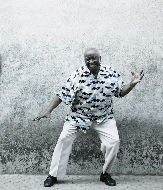 Bernhard Purdie / Drumer / Mumbai / 19.03.2011 ©Philipp Horak